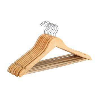 Set 8 umerașe din lemn pentru haine Wenko Shaped Hanger Eco bonami.ro