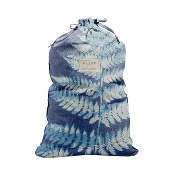 Săculeț textil pentru haine Linen Couture Bag Blue Leaf, înălțime 75 cm bonami.ro