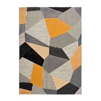 Covor Universal Gladys Sarro, 160 x 230 cm, portocaliu-gri imagine