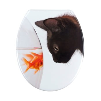 Capac WC Wenko Fish & Cat, 45 x 37,5 cm poza bonami.ro