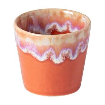 Ceașcă pentru espresso din gresie ceramică Costa Nova, 90 ml, portocaliu - alb bonami.ro