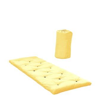 Pat pentru oaspeți tip saltea Karup Design Bed in a Bag Yellow poza bonami.ro