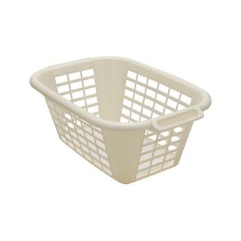 Coș de rufe Addis Rect Laundry Basket, 40 l, crem bonami.ro