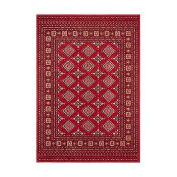 Covor Nouristan Sao Buchara, 200 x 290 cm, roșu imagine