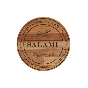 Tocător din lemn de fag Bisetti Broad Salami, ø 30 cm poza bonami.ro