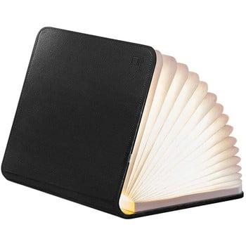 Veioză de birou cu LED Gingko Booklight Large, formă de carte, negru poza bonami.ro