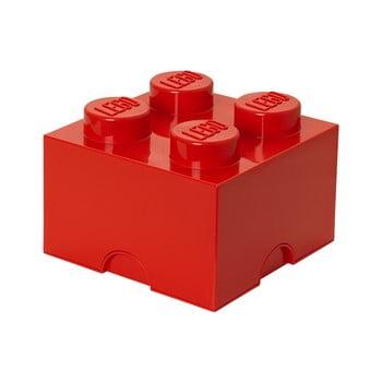 Cutie depozitare LEGO®, roșu bonami.ro