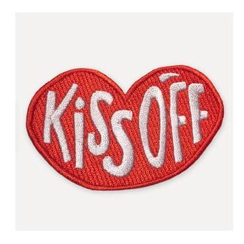 Patch în formă de buze U Studio Design Kiss Off, 8,5 x 11 cm, roșu bonami.ro