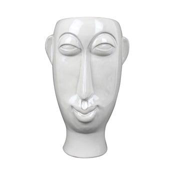 Vază din porțelan PT LIVING Mask, înălțime 27,2 cm, alb bonami.ro