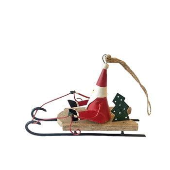 Decorațiune suspendată pentru Crăciun G-Bork Santa On Sled bonami.ro