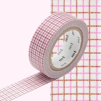 Bandă decorativă Washi MT Masking Tape Rosette, rolă 10 m bonami.ro