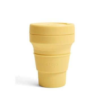 Cană pliabilă Stojo Pocket Cup Mimosa, 355 ml, galben bonami.ro