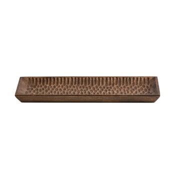 Tavă din lemn WOOOD Devan, 35 x 15 cm bonami.ro