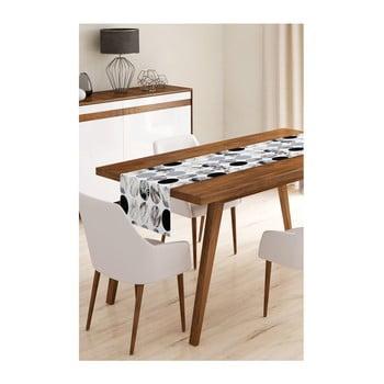 Napron din microfibră pentru masă Minimalist Cushion Covers Pearl, 45x145cm bonami.ro
