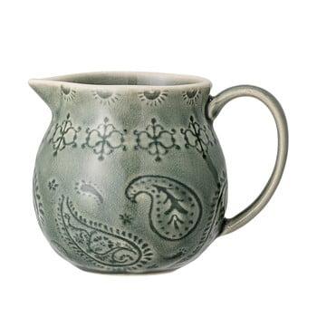 Cană pentru lapte din gresie ceramică Bloomingville Rani,400 ml, verde poza bonami.ro