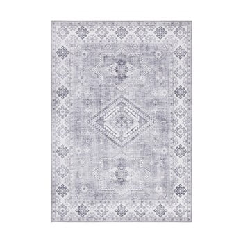 Covor Nouristan Gratia, 200 x 290 cm, gri deschis imagine
