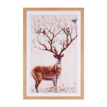 Tablou Sømcasa Deer, 40 x 60 cm bonami.ro