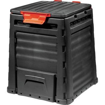 Cutie pentru compost de grădină Curver Eco, 320 l, negru poza bonami.ro