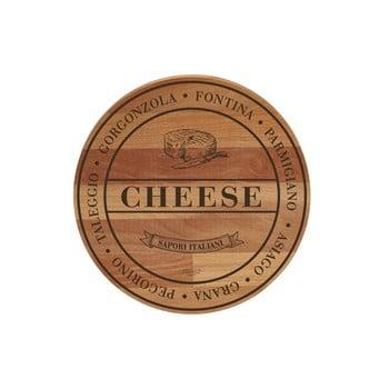 Tocător din lemn de fag Bisetti Broad Cheese, ø 30 cm poza bonami.ro