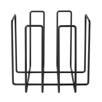 Suport metalic pentru reviste Blomus Magazines, negru bonami.ro