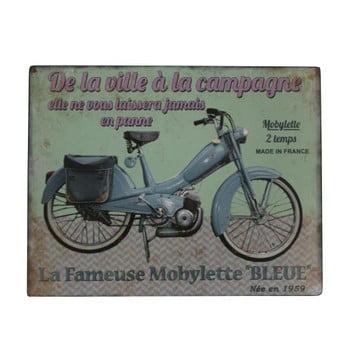 Semn Antic Line Blue Motorcycle bonami.ro