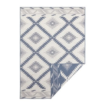 Covor adecvat pentru exterior Bougari Twin, 230 x 160 cm, albastru-crem imagine