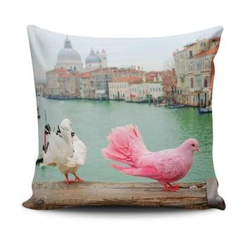 Pernă cu adaos de bumbac Cushion Love Herisso, 45 x 45 cm bonami.ro
