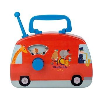 Autobuz muzical pentru copii Moulin Roty poza bonami.ro
