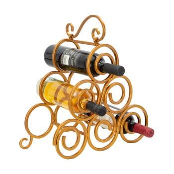Suport pentru sticle de vin Mauro Ferretti, auriu bonami.ro