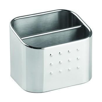Cutie depozitare din metal pentru bureți iDesign Forma, 8x10cm bonami.ro