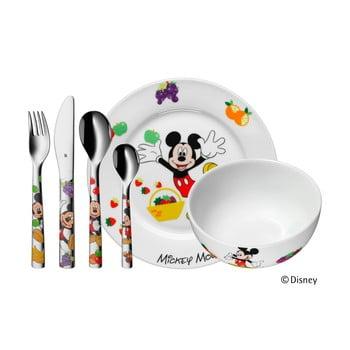 Set 6 tacâmuri din inox și veselă pentru copii Mickey Mouse bonami.ro