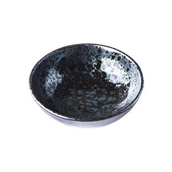 Bol din ceramică MIJ Pearl, ø 13 cm, negru - gri poza bonami.ro