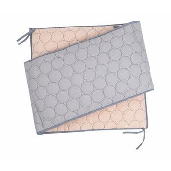 Husă protectie din bumbac pentru pătuț Nattiot Dots, 35 x 190 cm bonami.ro