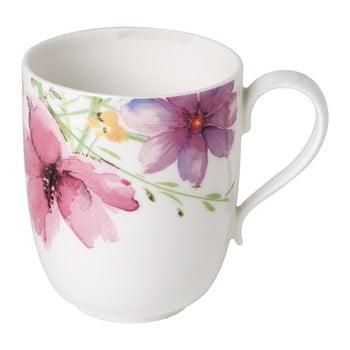 Cană din porțelan Villeroy & Boch Mariefleur Tea, 430 ml, motiv floral, multicolor bonami.ro