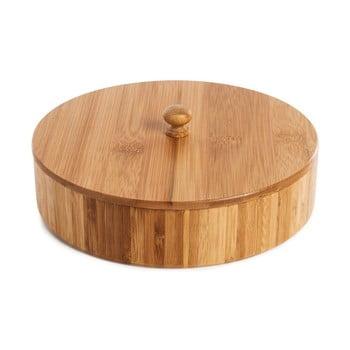 Cutie depozitare din lemn de bambus pentru tortilla Bambum Pekit, 20 x 20 cm poza bonami.ro