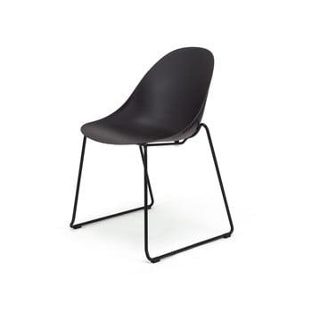 Set 2 scaune dining Le Bonom Viva, negru bonami.ro