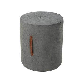 Puf Kooko Home Motion, ø 40 cm, gri închis poza bonami.ro
