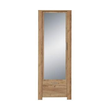 Dulap cu oglindă, decor lemn de stejar Germania Castera poza bonami.ro