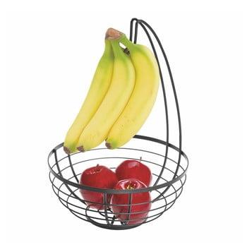 Coș cu cârlig pentru fructe iDesign Austin, ø 27,31 cm, negru bonami.ro