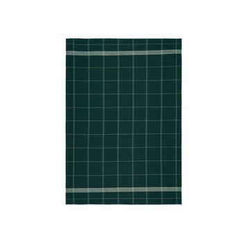 Prosop din bumbac pentru bucătărie Södahl Geometric, verde, 50x70cm bonami.ro