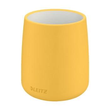 Suport din ceramică pentru pixuri Leitz Cosy, galben bonami.ro