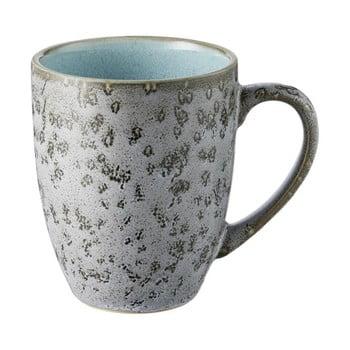 Cană din ceramică și glazură interioară albastru deshis Bitz Mensa, 300 ml, gri poza bonami.ro