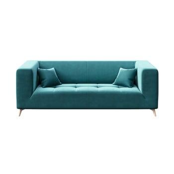 Canapea cu 3 locuri MESONICA Toro, albastru închis bonami.ro
