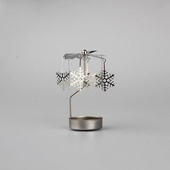 Decorațiune rotativă metalică cu fulgi Dakls Snowflakes bonami.ro