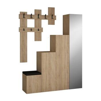 Set dulap și cuier de perete Homitis Up Sonomo poza bonami.ro