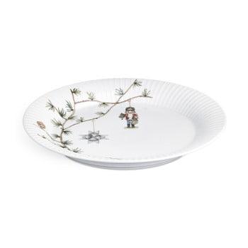 Farfurie din porțelan pentru Crăciun Kähler Design Hammershoi Christmas Plate, ⌀ 27 cm bonami.ro