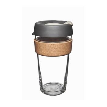 Cană de voiaj cu capac KeepCup Brew Cork Edition Press, 454 ml poza bonami.ro