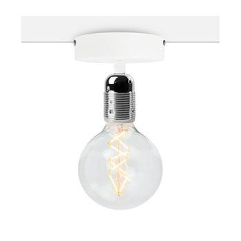 Plafonieră Bulb Attack Uno Basic, alb - argintiu bonami.ro