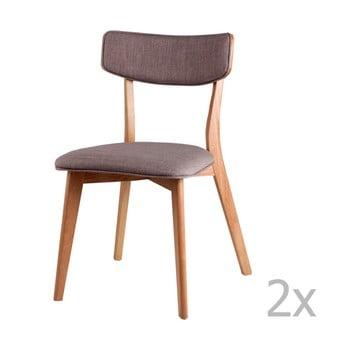 Set 2 scaune sømcasa Anais, gri deschis bonami.ro