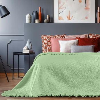 Cuvertură AmeliaHome Tilia Mint, 260 x 240 cm, verde bonami.ro